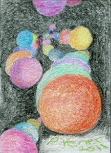 ACEO by Patricia C Vener copyright 2011