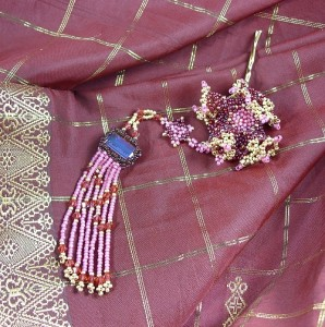 Patricia's Bubbe Pin™  ©Patricia C Vener, 2010 photographed with Sari
