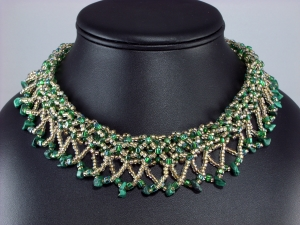 Malachite Marvel pays homage to the Art Deco flair of the 1920s